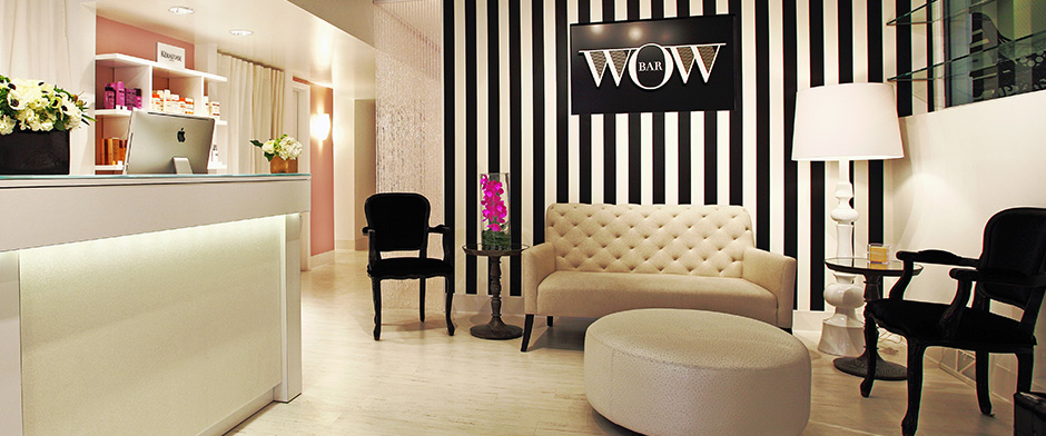 the lobby of the wow bar